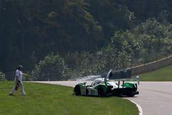 Problèmes mécaniques pour la #20 Dyson Racing Team Lola B09 86 Mazda: Butch Leitzinger, Marino Franc