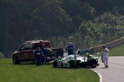 Problèmes mécaniques pour la #20 Dyson Racing Team Lola B09 86 Mazda: Butch Leitzinger, Marino Franchitti, Ben Devlin