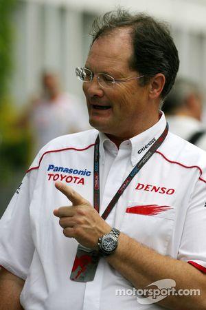 Frank Dernie, Toyota F1 Team