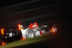 #1 Audi Sport North America Audi R15 TDI: Lucas Luhr, Marco Werner