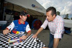 Romain Dumas et Eric Bachelart