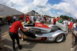 #2 Audi Sport Team Joest Audi R15 TDI