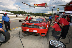 #62 Risi Competizione Ferrari F430 GT: Mika Salo, Jaime Melo, Pierre Kaffer de retour après un probl