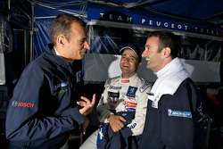 Stéphane Sarrazin, Pedro Lamy et Nicolas Minassian