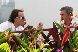 Robert Kubica ve Daniele Morelli, menajeri