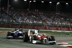 Ярно Трулли, Toyota впереди Нико Росберга, Williams
