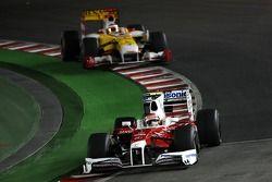 Timo Glock, Toyota F1 Team ve Fernando Alonso, Renault F1 Team