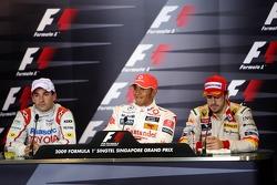 Timo Glock, Toyota F1 Team, Lewis Hamilton, McLaren Mercedes, Fernando Alonso, Renault F1 Team