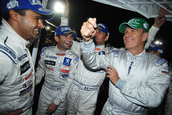Pedro Lamy, Nicolas Minassian, Franck Montagny et Dr. Wolfgang Ullrich