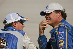 David Reutimann, Michael Waltrip Racing Toyota et Michael Waltrip, Michael Waltrip Racing Toyota