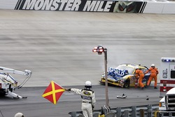 Robby Gordon, Robby Gordon Motorsports Dodge crashes