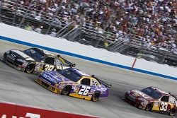 Ryan Newman, Jamie McMurray et Clint Bowyer