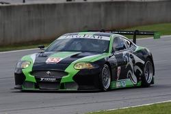 La RSR Jaguar XKR avec Paul Gentilozzi au volant