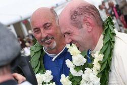 Les vainqueurs Bobby Rahal et Adrian Newey
