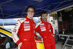 Thierry Neuville and Nicolas Klinger, Citroen Junior Team Citroen C4 WRC