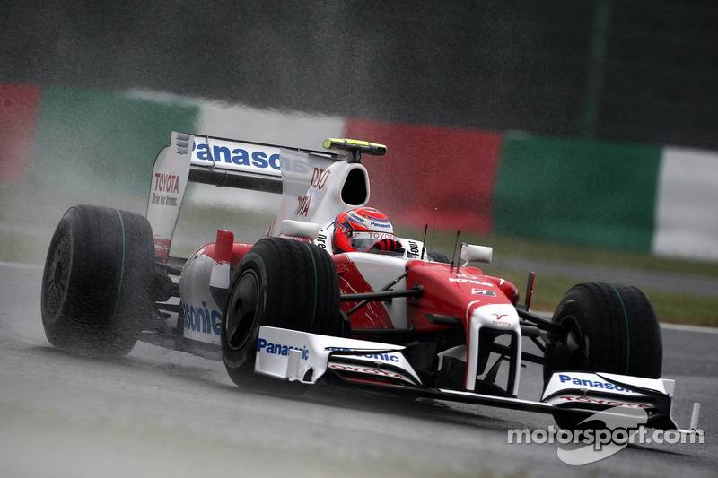 2009 год. Камуи Кобаяши. Две гонки в Toyota