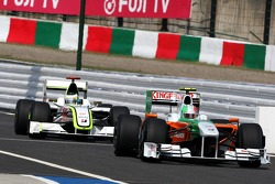 Vitantonio Liuzzi, Force India F1 Team ve Jenson Button, BrawnGP