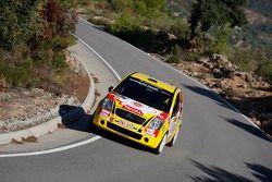 Thierry Neuville and Nicolas Klinger, Citroen Junior Team Citroen C4 WRC
