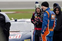 Scott Speed et Kyle Busch