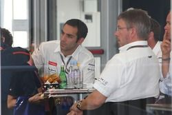 Fota meeting at Mclaren with Ross Brawn Team Principal, Brawn GP