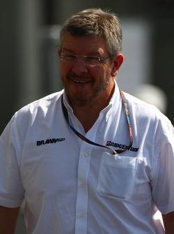 Ross Brawn, Brawn GP, Team Principal