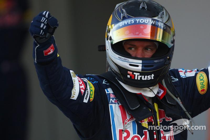 Sebastian Vettel en el GP de Japón 2009 (Red Bull)