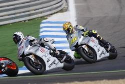 Jorge Lorenzo, Fiat Yamaha Team and Valentino Rossi, Fiat Yamaha Team