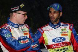 Jari-Matti Latvala and Khalid Al Qassimi