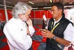 Amato Ferrari et Jean Alesi