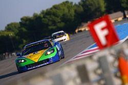 #8 Sangari Team Brazil Corvette Z06: Enrique Bernoldi, Roberto Streit