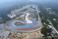 Vue aérienne du Circuit Paul Ricard