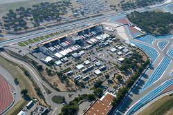 Aerial view of Circuit Paul Ricard