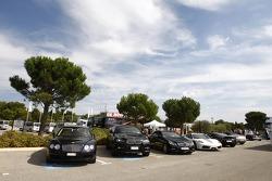 Des voitures de luxes