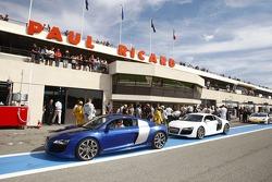 VIP rides in Audi R8
