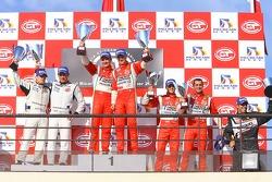 GT2: Victoire de Toni Vilander & Gianmaria Bruni devant Emmanuel Collard & Richard Westbrook et Alvaro Barba Lopez & Niki Cadei