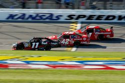 Денни Хэмлин, Joe Gibbs Racing Toyota, Хуан-Пабло Монтойя, Earnhardt Ganassi Racing Chevrolet, Кейси