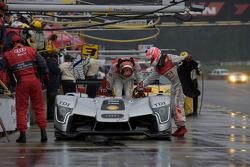 Entrainement pour la #1 Audi Sport North America Audi R15 TDI: Lucas Luhr, Marco Werner