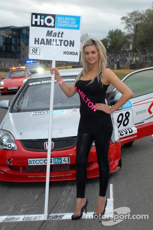 Grid girl de Matt Hamilton