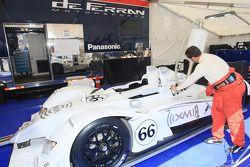 Paddock de De Ferran Motorsports