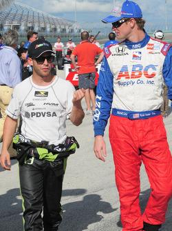 Ernesto Viso and Ryan Hunter-Reay