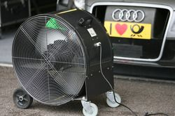 Pitlane Feature: cooling system running