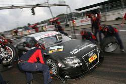 Pitstop of Timo Scheider, Audi Sport Team Abt Sportsline Audi A4 DTM