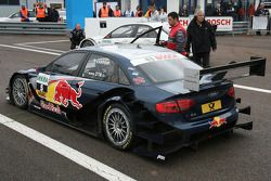 Mattias Ekström, Audi Sport Team Abt Audi A4 DTM waits for Q4