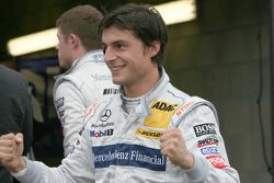 Pole winner Bruno Spengler, Team HWA AG, AMG Mercedes C-Klasse