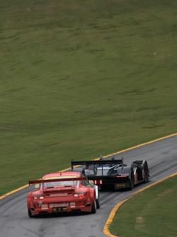 #66 de Ferran Motorsports Acura ARX-02a Acura: Gil de Ferran, Simon Pagenaud, Scott Dixon, #45 Flying Lizard Motorsports Porsche 911 GT3 RSR: Jorg Bergmeister, Patrick Long, Marc Lieb