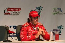 Championship winner Dario Franchitti, Chip Ganassi Racing