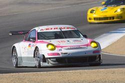 #18 T-Mobile VICI Racing Porsche 911 GT3 RSR: Richard Westbrook, Johannes Stuck, Lance David Arnold