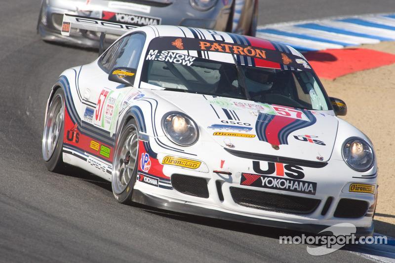 57 Snow Racing Porsche 911 Gt3 Cup Martin Snow Melanie
