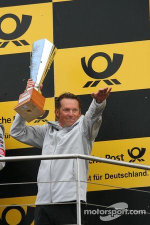 Podium: Hans-Jürgen Mattheis, Teammanager HWA Mercedes