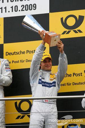 Podium: third place Bruno Spengler, Team HWA AG, AMG Mercedes C-Klasse
